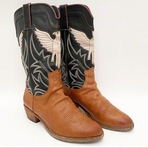 Sam Edelman Sheldon western thunderbird boots 7.5